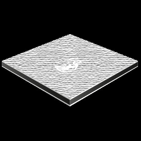 Butlerfinish (Aluverbundplatte gebürstet)